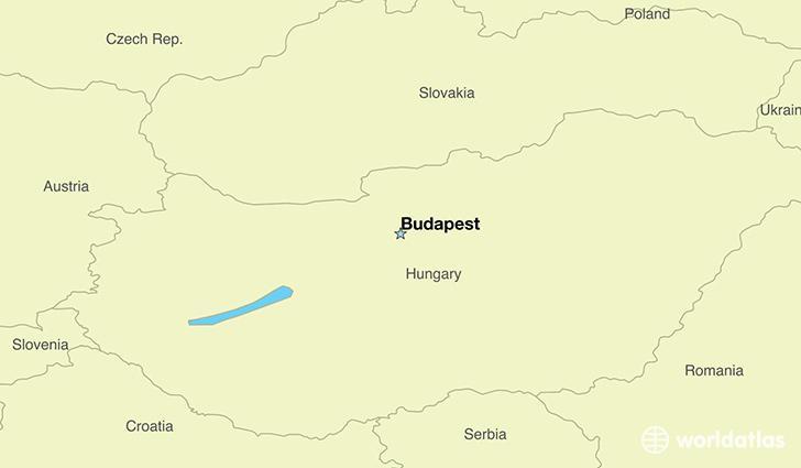 Capital of hungary map - Budapest hungary map of europe ...